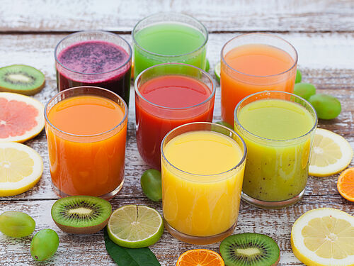 What's the difference between 100% juice, a nectar and a fruit juice